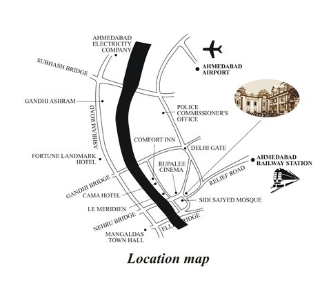 The House Of MG Hotel - Location Map
