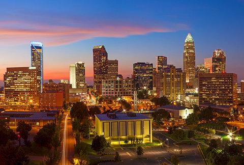 Charlotte Center City Hotel - Downtown Charlotte Skyline