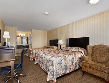 Kamloops Travelodge Mountview Vista de la habitación