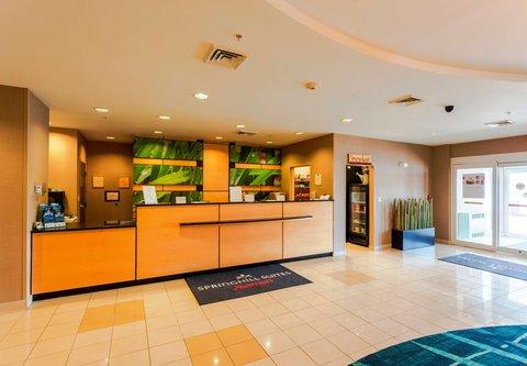 SpringHill Suites by Marriott Boston Devens Common Center - Front Desk