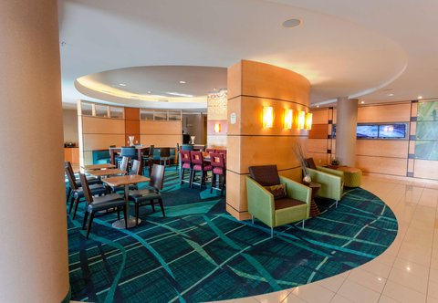 SpringHill Suites by Marriott Boston Devens Common Center - Lobby
