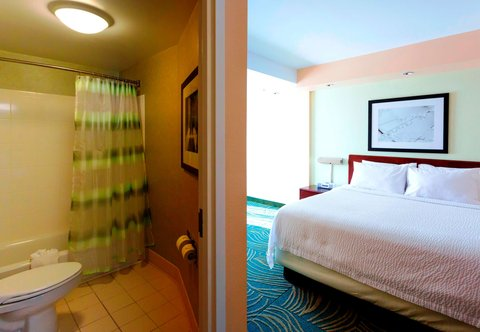 SpringHill Suites by Marriott Boston Devens Common Center - King Suite Bathroom