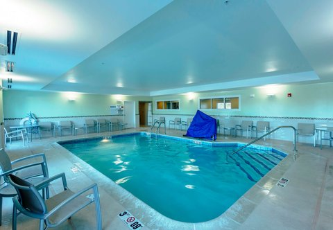 SpringHill Suites by Marriott Boston Devens Common Center - Indoor Pool