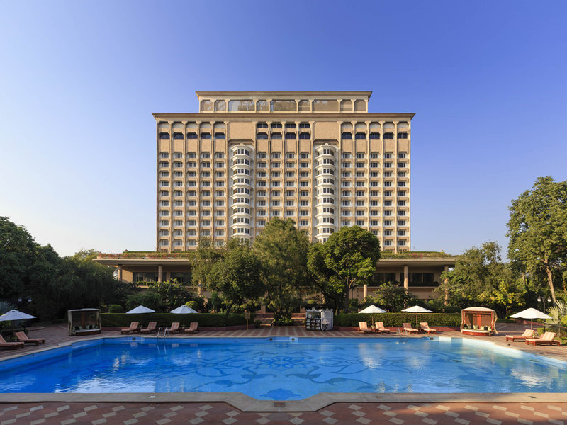 The Taj Mahal Hotel New Delhi Widok z zewnątrz