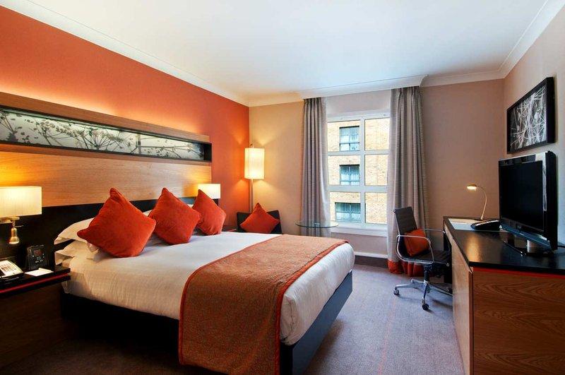 Hilton Dublin hotel 客房视图
