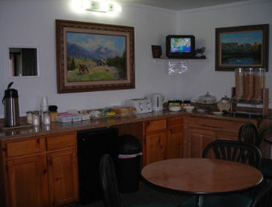 Knights Inn Cortez CO - Breakfast Area