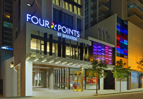 Four Points By Sheraton Brisbane Hotel - Exterior