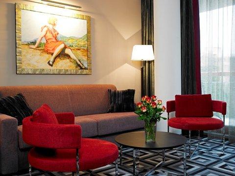 Hotel Belvedere - Living room suite