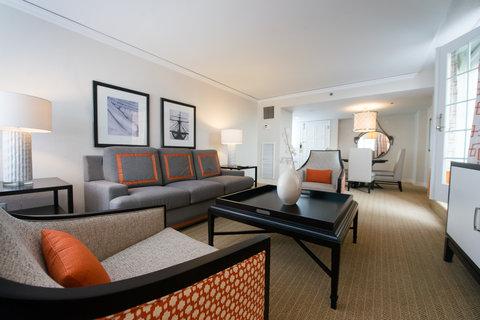 Loews Annapolis Hotel - Admiral Suite Living Room
