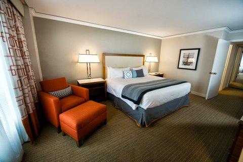 Loews Annapolis Hotel - Admiral Suite King Bedroom