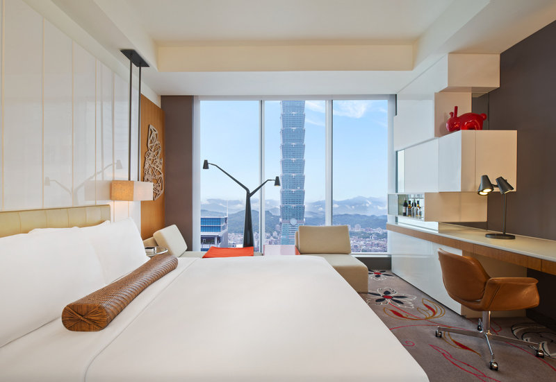 W Taipei Vista della camera
