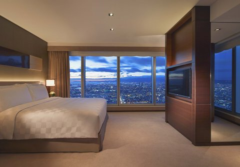 فندق أوساكا ماريوت مياكو - Executive Suite   Sleeping Area
