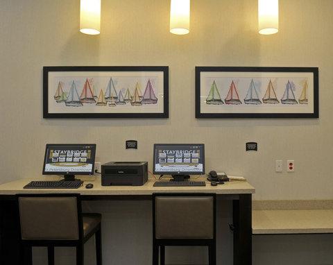 Staybridge Suites ST. PETERSBURG DOWNTOWN - Business Center