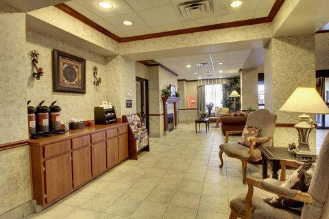 Comfort Suites Waco - Lobby Coffee Bar