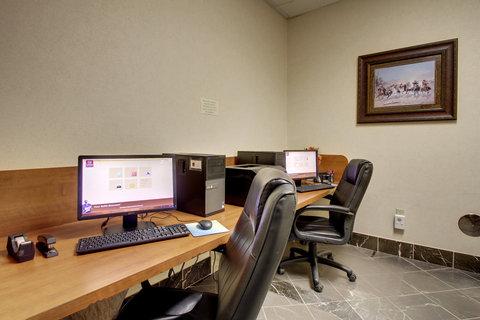 Comfort Suites Waco - Business Center