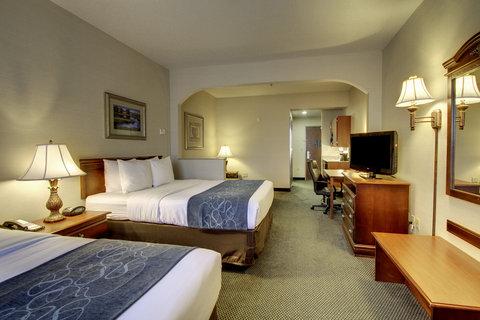 Comfort Suites Waco - Two Queen Bed Suite
