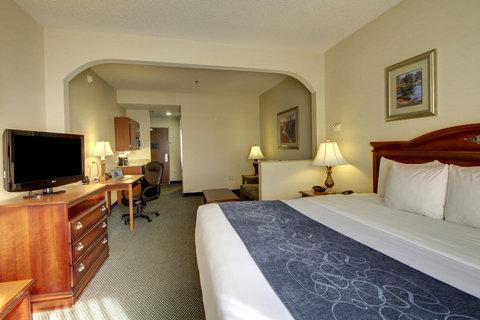 Comfort Suites Waco - King Bed Suite