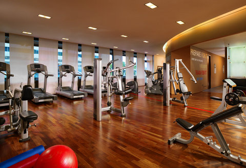 Sheraton Frankfurt Airport Hotel and Conference Center - Fitness Center