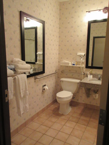 BEST WESTERN Big Spring Lodge - Mobility Accessible Bathroom