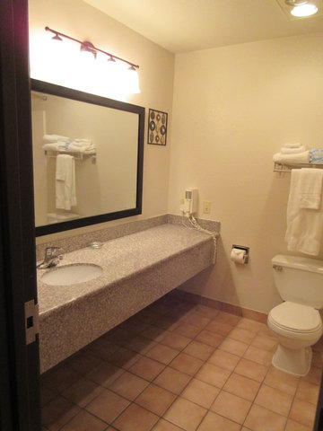 BEST WESTERN Big Spring Lodge - Guest Bathroom