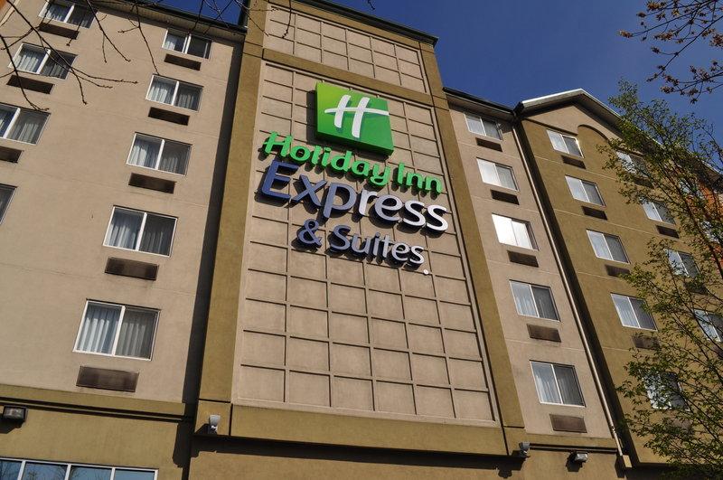 Holiday Inn Express Seattle-City Center Kilátás a szabadba