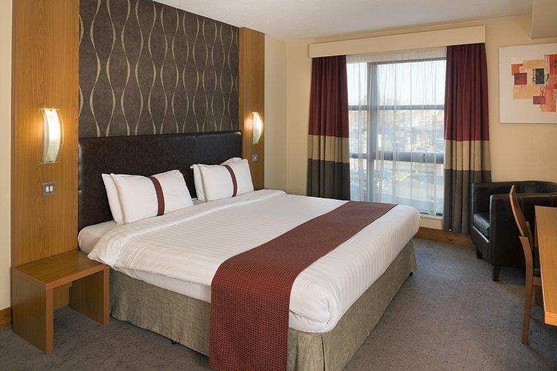 Holiday Inn Manchester-Central Park Odanın görünümü