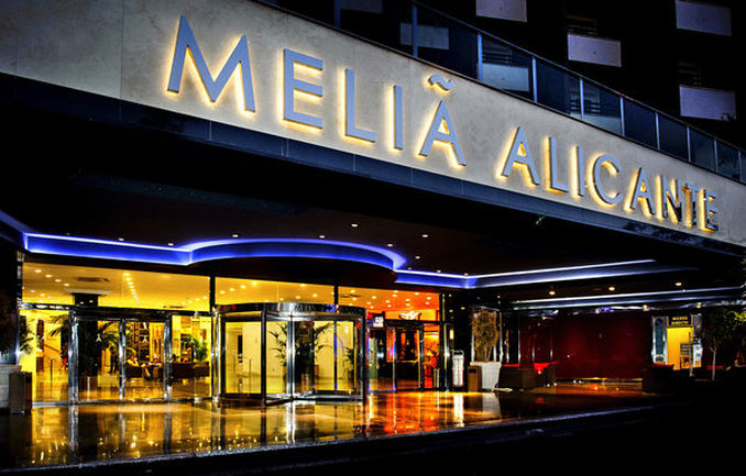 Melia Alicante Kilátás a szabadba