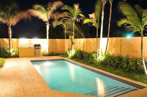 Gold Coast Aruba - Villa Backyard