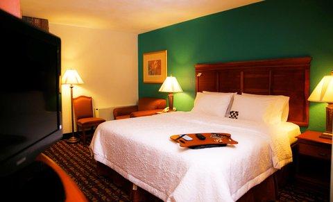 Hampton Inn Dallas-North-I-35E At Walnut Hill - King Bed