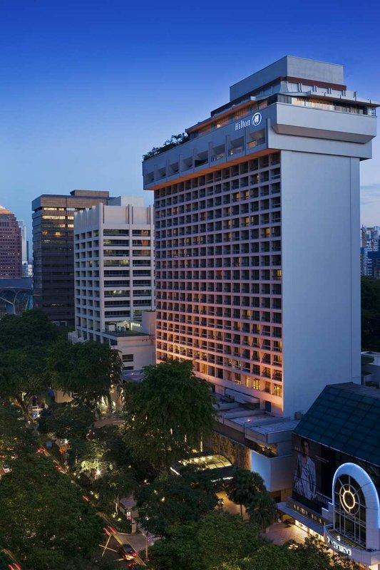Hilton Singapore Hotel Exterior view
