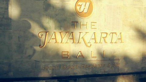 The Jayakarta Bali Residence & Spa Hotel - Welcome Sign