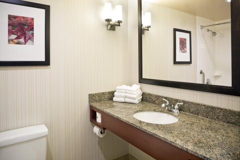 Hilton Garden Inn Baltimore-White Marsh - Guest Bathroom