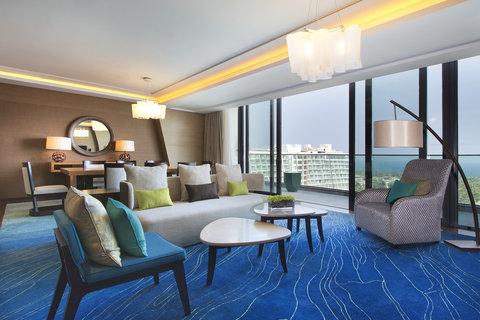 The Westin Sanya Haitang Bay Resort - Premier Seaview Suite Living Room