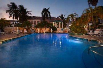 Caribbean Palm Village Resort - Pool Area Phase Atnight