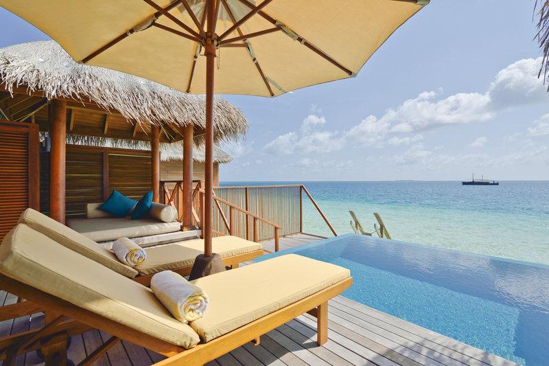 Huvafen Fushi Resort & Spa Widok pokoju