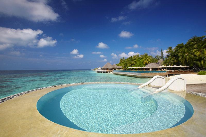 Huvafen Fushi Resort & Spa Widok basenu