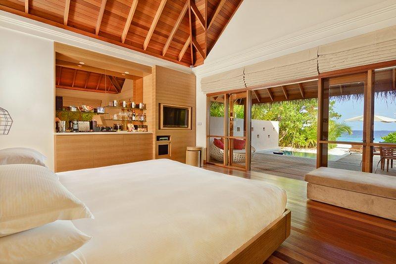 Huvafen Fushi Resort & Spa Plaża