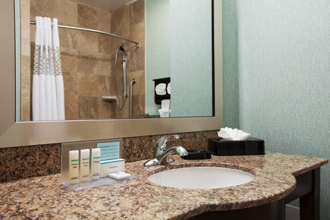 Hampton Inn LAX Hawthorne - Accessible Bathroom