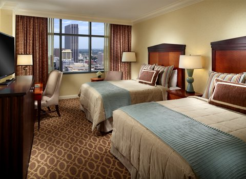 Omni Hotel At Cnn Center - Deluxe Double Double Room