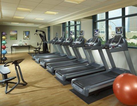 Omni Hotel At Cnn Center - Fitness Center