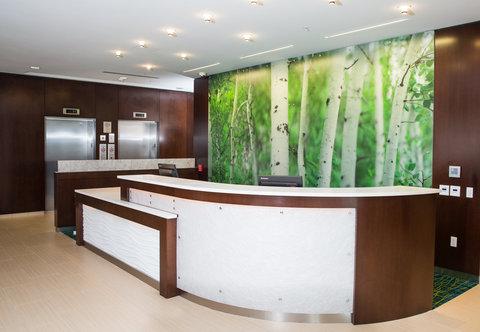 SpringHill Suites Bloomington - Front Desk