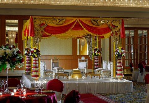 فندق ماريوت جي دبليو دبي - Wedding Setup   Details