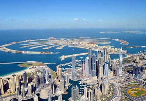 فندق ماريوت هاربر دبي - Aerial View