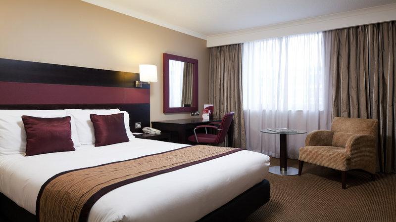 Crowne Plaza Hotel Leeds Вид в номере