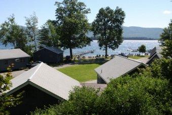 Blue Lagoon on Lake Georg Außenansicht