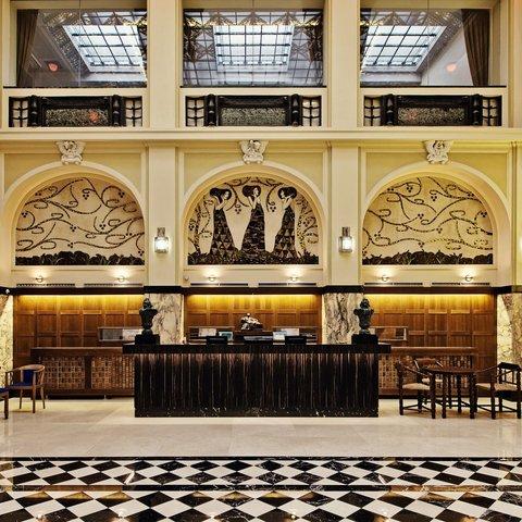 Hotel Grandezza - Reception hall