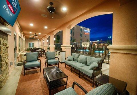 TownePlace Suites El Paso Airport - Outdoor Patio