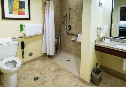 TownePlace Suites El Paso Airport - Accessible Suite Bathroom