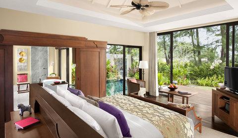 أنانتارا بوكيت ريزورت آند سبا ليان - Beach Access Pool Villa Bedroom