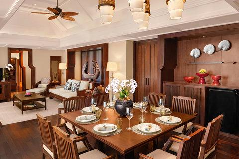 أنانتارا بوكيت ريزورت آند سبا ليان - Two Bedroom Anantara Pool Villa Living Room